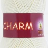 Пряжа Vitа cotton Charm (4153 молочный)