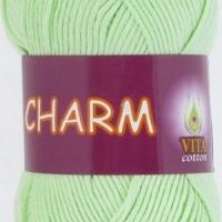 Пряжа Vitа cotton Charm (4161 св.салатовый)