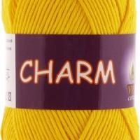 Пряжа Vitа cotton Charm (4180 желтый)