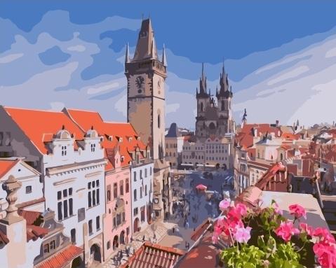Картина по номерам GX 32880 Прага 40х50 см