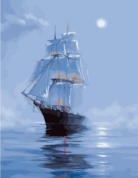 Картина по номерам GX 25462 Корабль 40х50 см