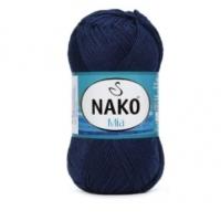 Пряжа Nako Mia (148 тёмно-синий джинс)