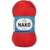 Пряжа Nako Mia (207 красный)