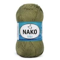 Пряжа Nako Mia (5348 хаки)