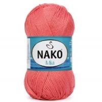 Пряжа Nako Mia (991 коралл)