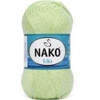 Пряжа Nako Mia (3668 светло-фисташковый)