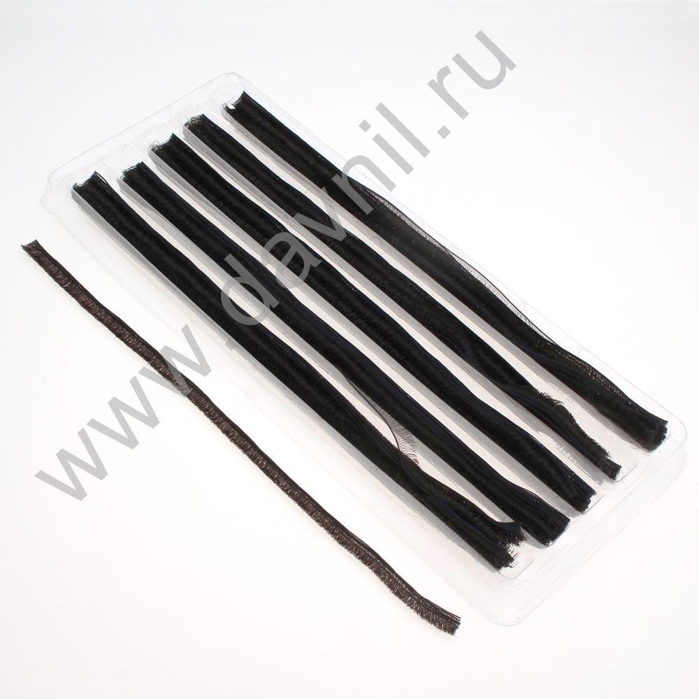 Ресницы лентой 20 см черные 12 мм