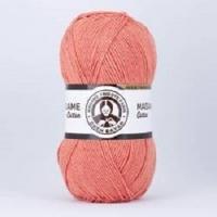 Пряжа Madame Tricote Paris Madame Cotton (038 коралл)