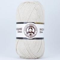Пряжа Madame Tricote Paris Madame Cotton (034 молочный)