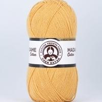 Пряжа Madame Tricote Paris Madame Cotton (039 желтый)