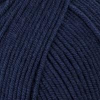 Пряжа Madame Tricote Paris Madame Cotton (011 темно-синий)