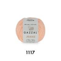 Пряжа Gazzal Jeans (1117 пудра)
