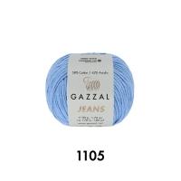 Пряжа Gazzal Jeans (1105 светлый джинс)