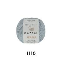 Пряжа Gazzal Jeans (1110 светло-серый)