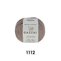 Пряжа Gazzal Jeans (1112 молочный шоколад)