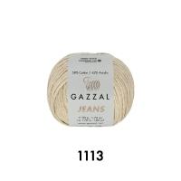 Пряжа Gazzal Jeans (1113 песочный)