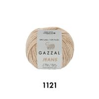 Пряжа Gazzal Jeans (1121 латте)