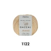 Пряжа Gazzal Jeans (1122 льняной)