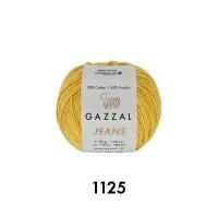 Пряжа Gazzal Jeans (1125 груша)