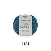Пряжа Gazzal Jeans (1131 шторм)