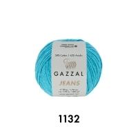 Пряжа Gazzal Jeans (1132 светло-голубой)