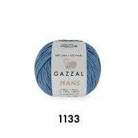 Пряжа Gazzal Jeans (1133 джинс)
