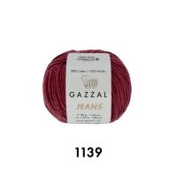 Пряжа Gazzal Jeans (1139 сухая роза)