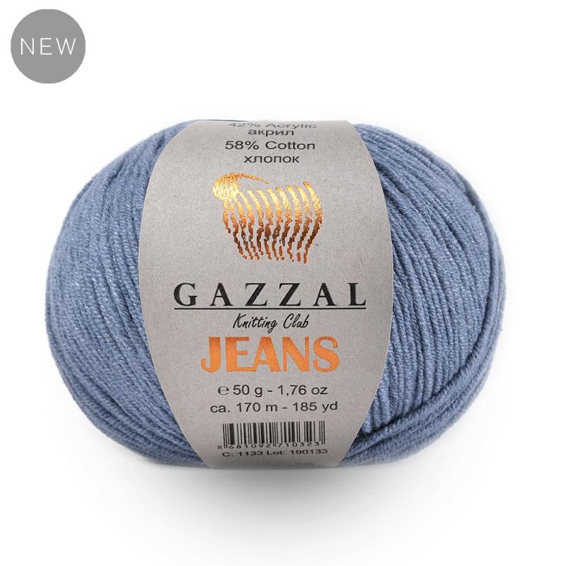Пряжа Gazzal Jeans