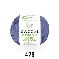 Пряжа Gazzal Organic Baby Cotton (428 колокольчик)