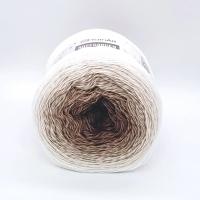 Пряжа YarnArt Rosegarden (308 коричневый/бежевый)