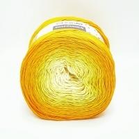 Пряжа YarnArt Rosegarden (309 желтый-молочный)