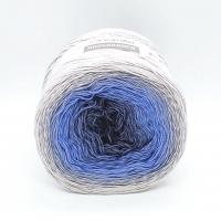 Пряжа YarnArt Rosegarden (315 синий-голубой-серый-молочный)