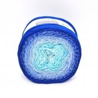 Пряжа YarnArt Rosegarden (318 крем/голубой/синий)