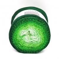Пряжа YarnArt Rosegarden (319 салат/тёмно-зелёный)