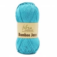 Пряжа Bamboo Jazz Fibranatura (206 зеленая бирюза)
