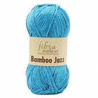 Пряжа Bamboo Jazz Fibranatura (207 голубая бирюза)