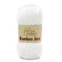 Пряжа Bamboo Jazz Fibranatura (201 белый)