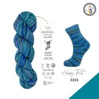 Пряжа Gazzal Happy Feet (3253)