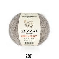 Пряжа Gazzal Peru Alpaca (2301 латте)
