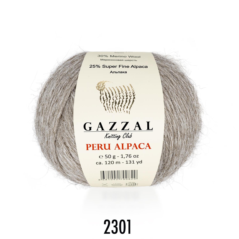 Пряжа Gazzal Peru Alpaca