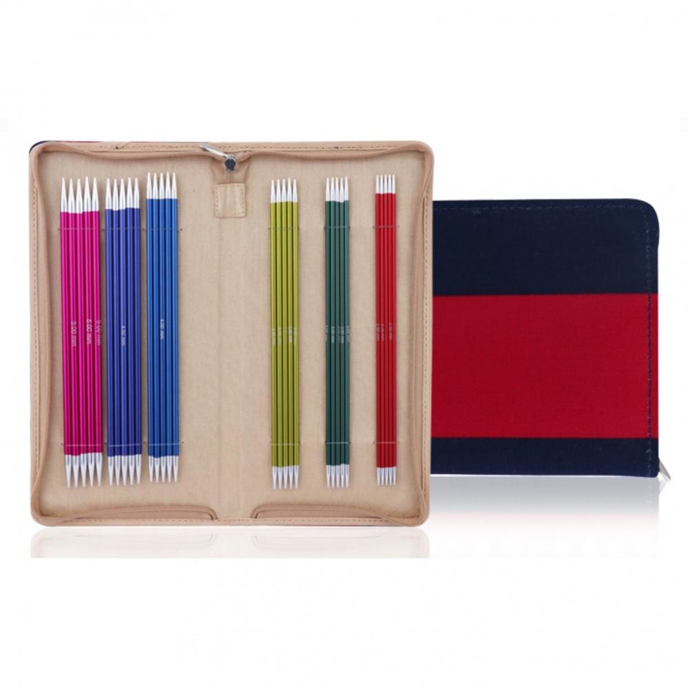 47401 Набор носочных спиц Socks Kit — 15 cm Zing KnitPro