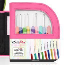 30922 Набор крючков в розовом чехле KnitPro