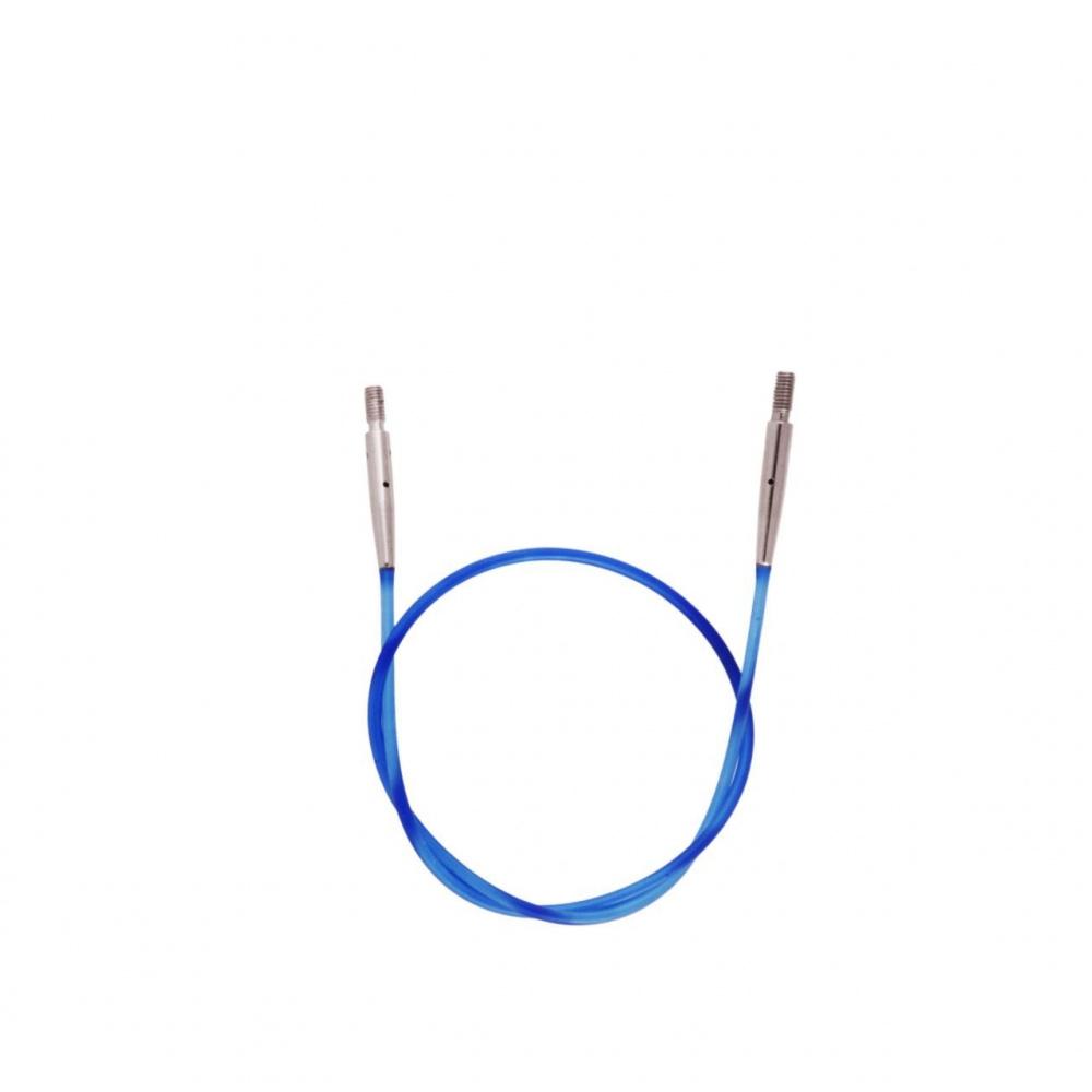 10632 Кабель Blue (Голубой) д/создания круговых спиц длиной 50 cm KnitPro