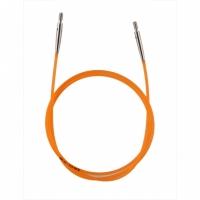 10634 Кабель Orange (Оранжевый) д/создания круговых спиц длиной 80 cm KnitPro