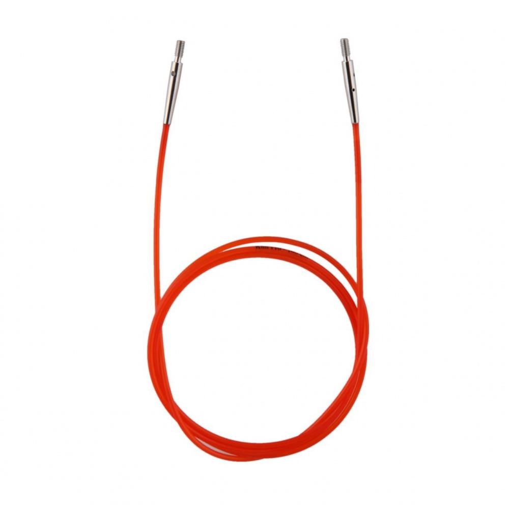 10635 Кабель Red (Красный) д/создания круговых спиц длиной 100 cm KnitPro
