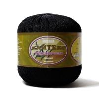 Пряжа Камтекс Вискозный шелк блестящий (003 чёрный)
