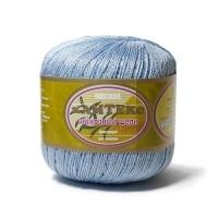 Пряжа Камтекс Вискозный шелк блестящий (015 голубой)