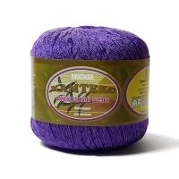 Пряжа Камтекс Вискозный шелк блестящий (060 фиолетовый)
