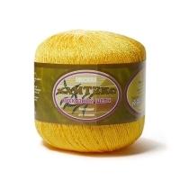 Пряжа Камтекс Вискозный шелк блестящий (104 жёлтый)