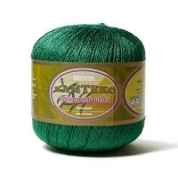 Пряжа Камтекс Вискозный шелк блестящий (109 зелёный яркий)